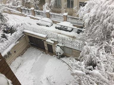 آغاز بارش برف و باران در ۲۲ استان/ هوا ۱۰ درجه سرد میشود