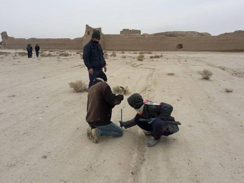 تعیین خطوط مرزی و محدوده عرصه تپهحصار تاریخی دامغان