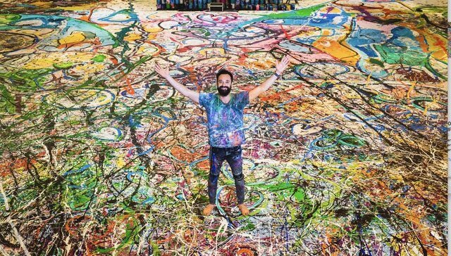 بزرگترین تابلو نقاشی جهان به مزایده گذاشته می شود