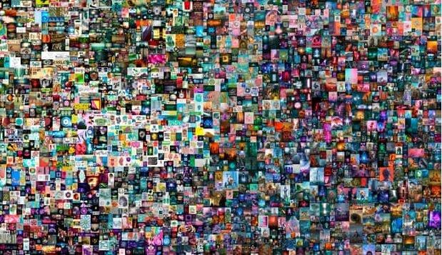 فروش چشمگیر یک اثر هنری کاملا دیجیتال