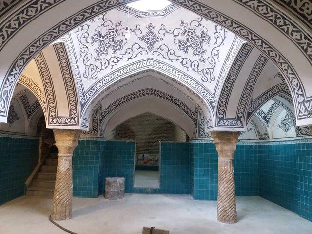 مرمت حمام کبابیان همدان