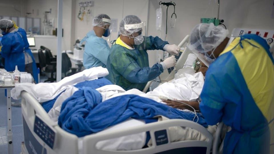 9 بیمار مبتلا به کرونا در آتش سوزی یک بیمارستان جان باختند