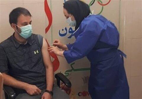 آغاز واکسیناسیون ورزشکاران المپیکی