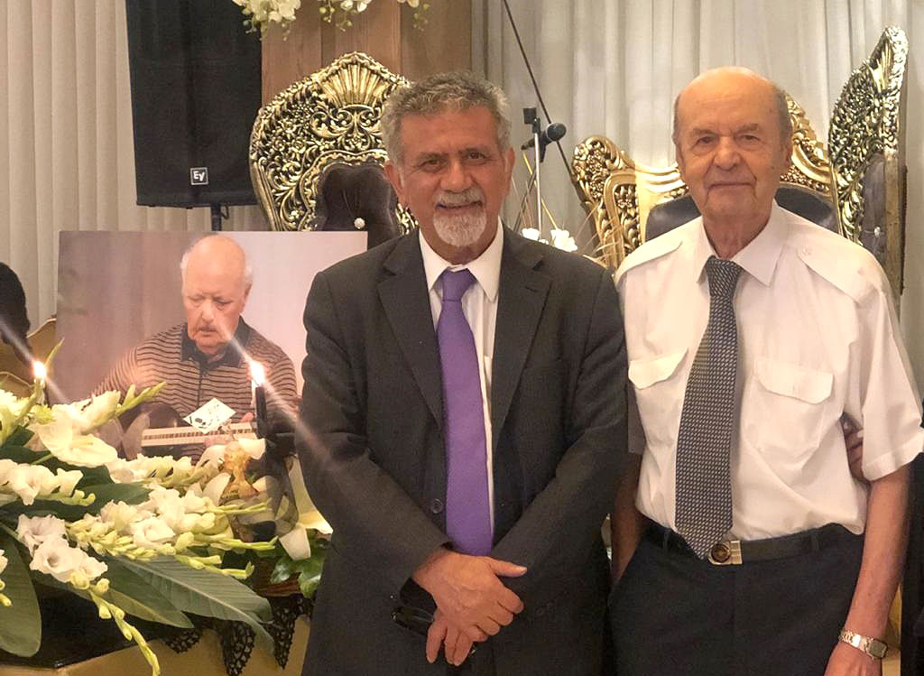 پیام تسلیت پروفسور امین به خاطر درگذشت دکتر حکیمی