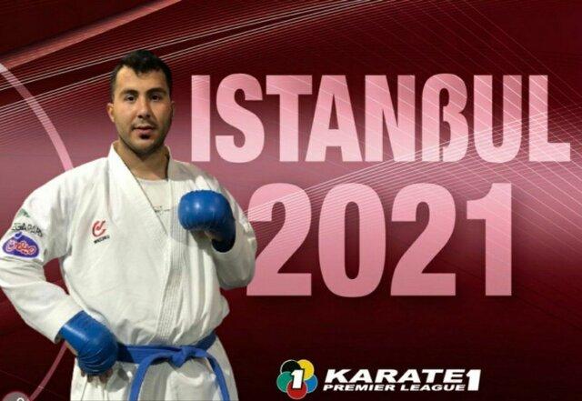 گنجزاده سومین فینالیست ایران در کاراته وان ترکیه