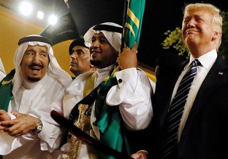 اهداء هدایای تقلبی به ترامپ، در سفر به عربستان سعودی