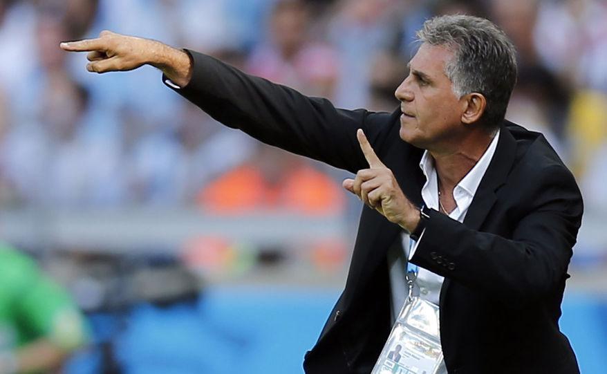 تیم ملی عراق از این پس با «کارلوس کیروش»