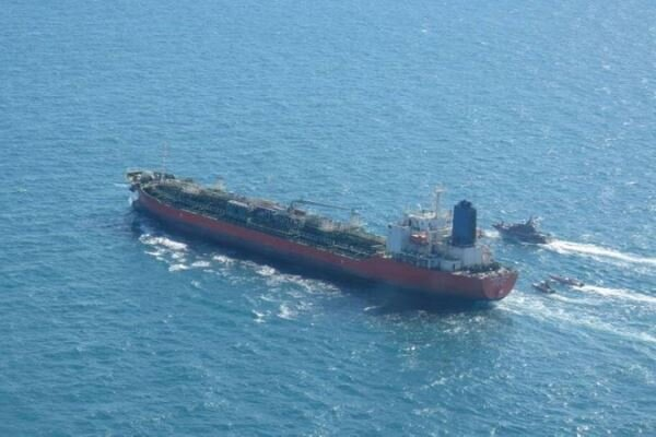خروج نفتکش توقیف شده کره جنوبی از ایران