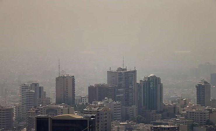 هواشناسی نسبت به آلودگی هوا در ۵ کلانشهر هشدار داد