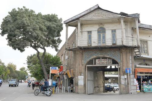 کوچه شترداران، پارکینگ شترهای تهران قدیم