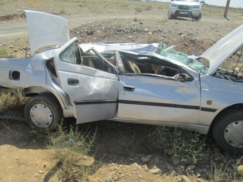 واژگونی خودرو پژو405 در داورزن 4 مصدوم برجای گذاشت
