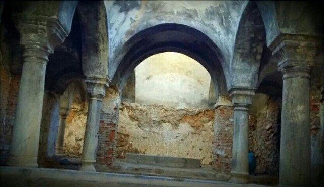 حمام تاریخی روستای لکان خمین واگذار شد