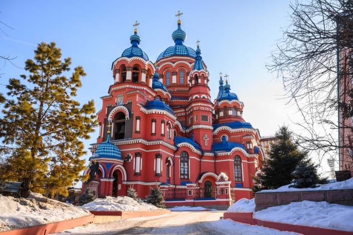 تاریخ مرموز کلیسای جامع سنت باسیل مسکو