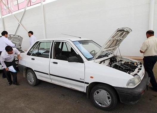 قیمت انواع خودرو کارکرده پراید - جدول