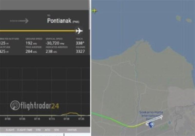 قطع ارتباط یک هواپیمای مسافربری اندونزی با برج مراقبت