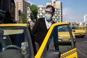 سازمان تاکسیرانی با رانندگان بدون ماسک برخورد می کند