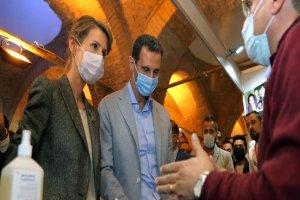 وضعیت جسمانی بشار اسد و همسرش رو به بهبودی است
