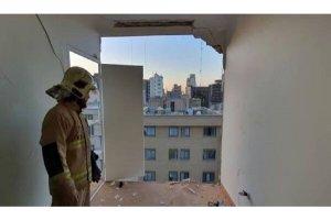 انفجار در یک ساختمان اداری در پایتخت ایران
