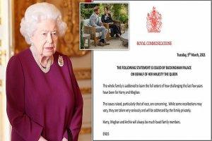 ملکه انگلیس به اظهارات مگان واکنش نشان داد