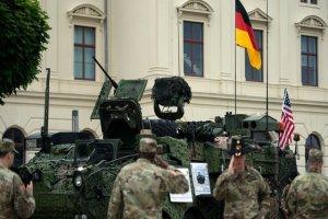 حمایت آلمان از وجود سربازان آمریکایی با هدف منافع مشترک