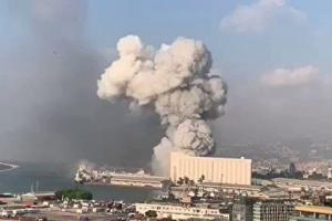 انسانهایی که موج انفجار بیروت، آنها را پرتاب کرد!