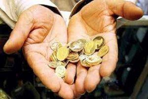 نوسان قیمت سکه در کانال ۱۰ میلیونی