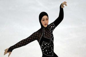 دختر ایرانی قهرمان رقص اسکی در روسیه شد