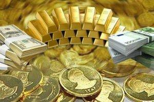 افزایش قیمت طلا، سکه و ارز در نخستین روز هفته