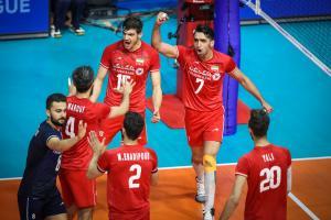 تیم ملی والیبال ایران همچنان بهترین آسیا