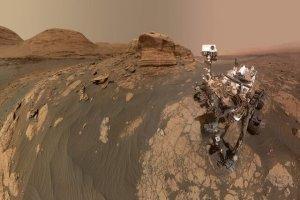 سلفی مریخ نورد ناسا در سیاره سرخ
