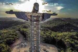 آغاز ساخت تندیس عظیم مسیح (ع) در برزیل