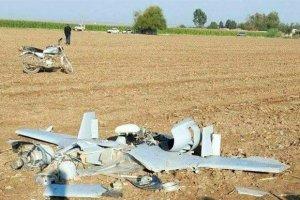 سقوط یک پهپاد نظامی در کاشان