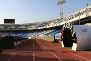 رونمایی از مجهزترین تونل ضدعفونی کشور در ورزشگاه آزادی
