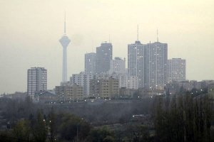 بهبود کیفیت هوای ناسالم تهران با وزش باد