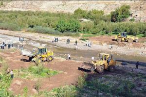۲۶۰ هکتار از حریم رودخانه های تهران آزادسازی شد