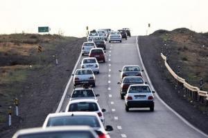 تردد وسایل نقلیه در جادههای کشور ۸ درصد کاهش یافت