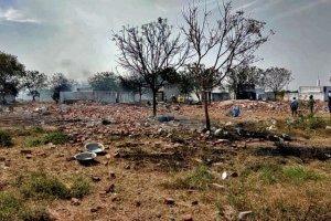 کشته شدن 19 تن در انفجار کارخانه ترقه سازی هند