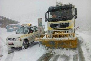 پیشبینی بارش برف و باران در برخی جادهها از فردا