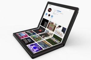 لپتاپهایی با نمایشگر تاشو روانه بازار میشوند