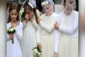ازدواج اجباری دختران کوچک در انگلستان