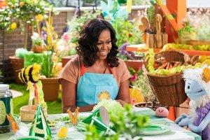 تولید برنامه آشپزی کودکمحور توسط همسر اوباما