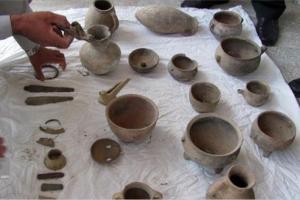 کشف عتیقهجات هزاره قبل از میلاد