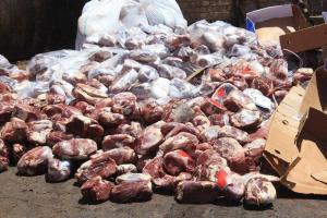 بیش از 2 تن گوشت فاسد در تهران کشف شد