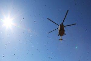 سقوط بالگرد اورژانس در ایران