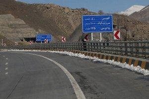 انسداد جاده چالوس از 29 مهر