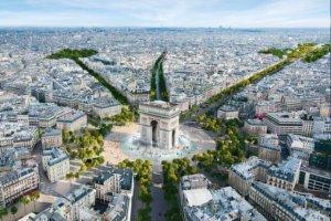 «شانزلیزه» پاریس باغ میشود