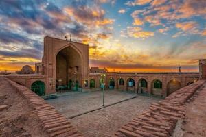 مسجد جامع تاریخی چشام مرمت شد