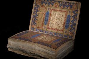 نگهداری قرآن قزوینی در کتابخانه ملی