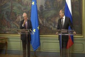 آماده همکاری لاوروف با اتحادیه اروپا درباره برجام
